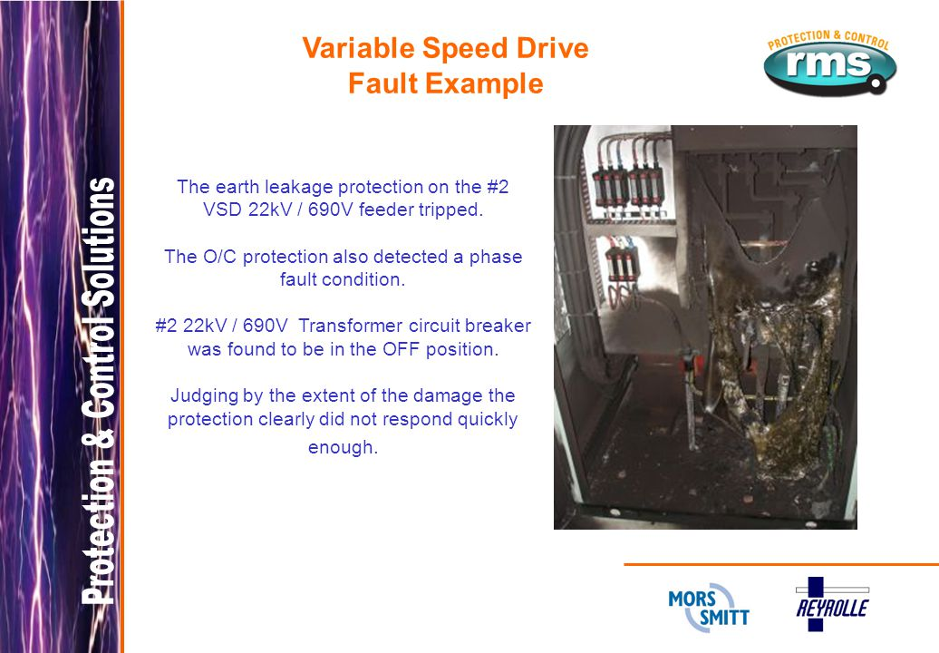 Variable Speed Drive Fault Example