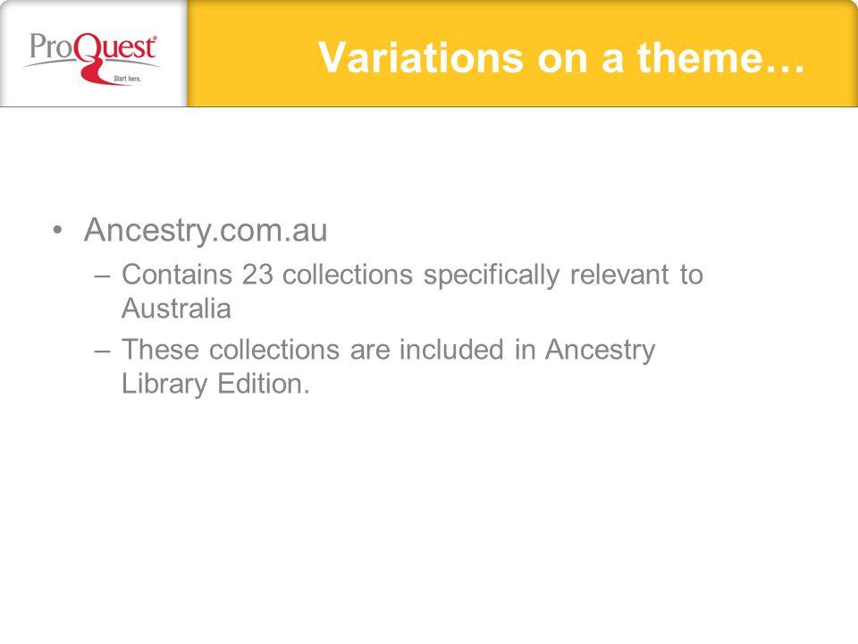 Ancestry Message Board