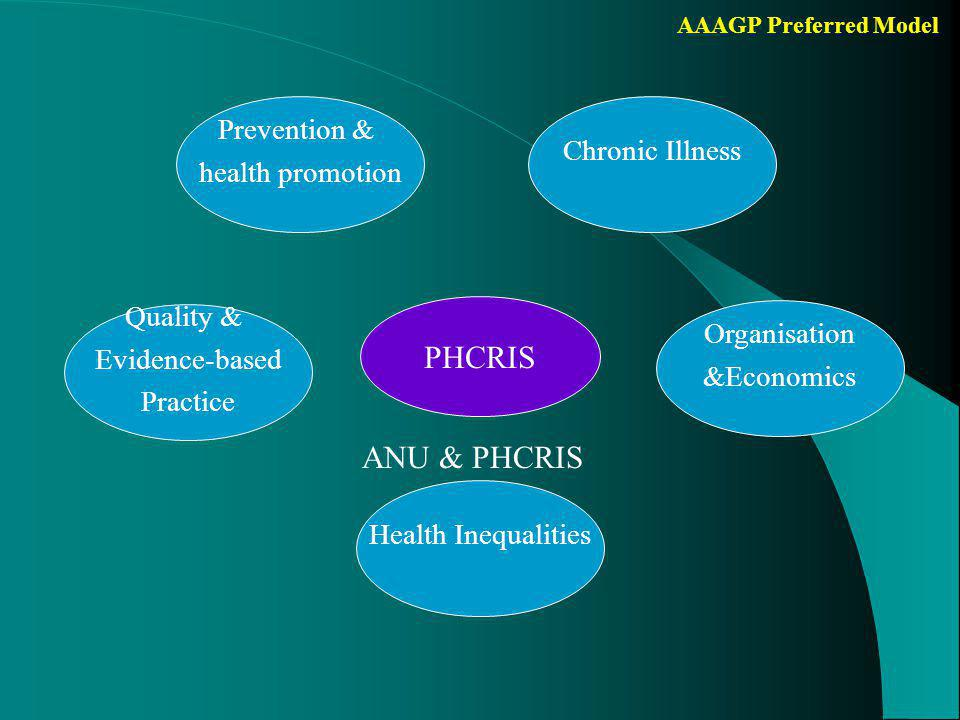 AAAGP Preferred Model Criteria for theme centre Institution rather than persons Track record of applicants in theme – Acknowledged experts in the field – Substantial number of international publications over a longer period – Succesful in initiating projects and obtaining external funding – Good record in training and supervising junior researchers/PhD students – Collaboration across institutions