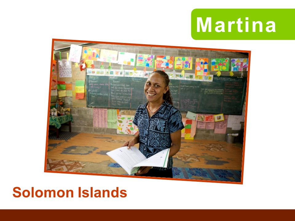 Solomon Islands Martina