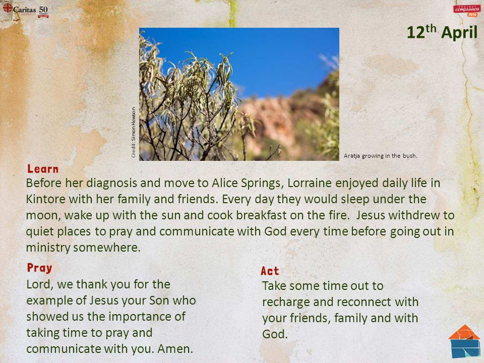 Before her diagnosis and move to Alice Springs, Lorraine enjoyed daily life in Kintore with her family and friends.