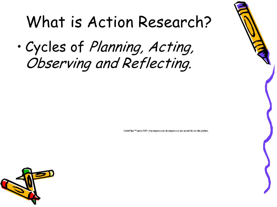 How are projects using action Research.
