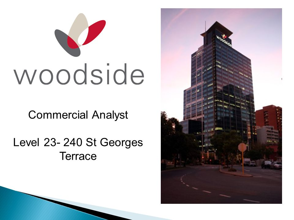 Commercial Analyst Level 23- 240 St Georges Terrace