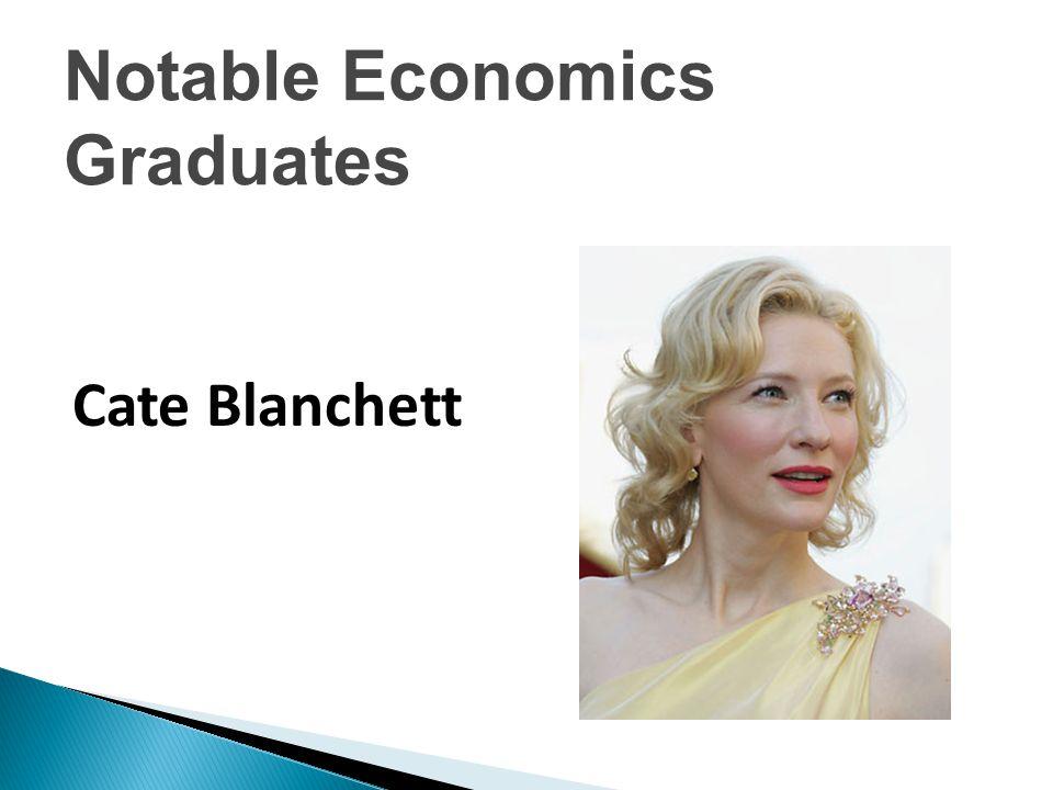  Tiger Woods Notable Economics Graduates