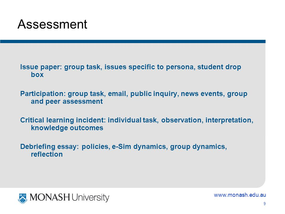 www.monash.edu.au 20 Cases 7 cases (patients) representing key psychological disorders Scientist-practitioner model Raise professional problems raised in & by the cases Exemplified range of possible approaches to treatment