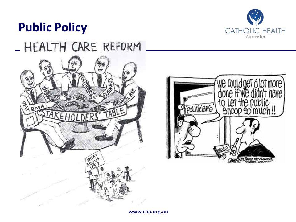 www.cha.org.au Public Policy