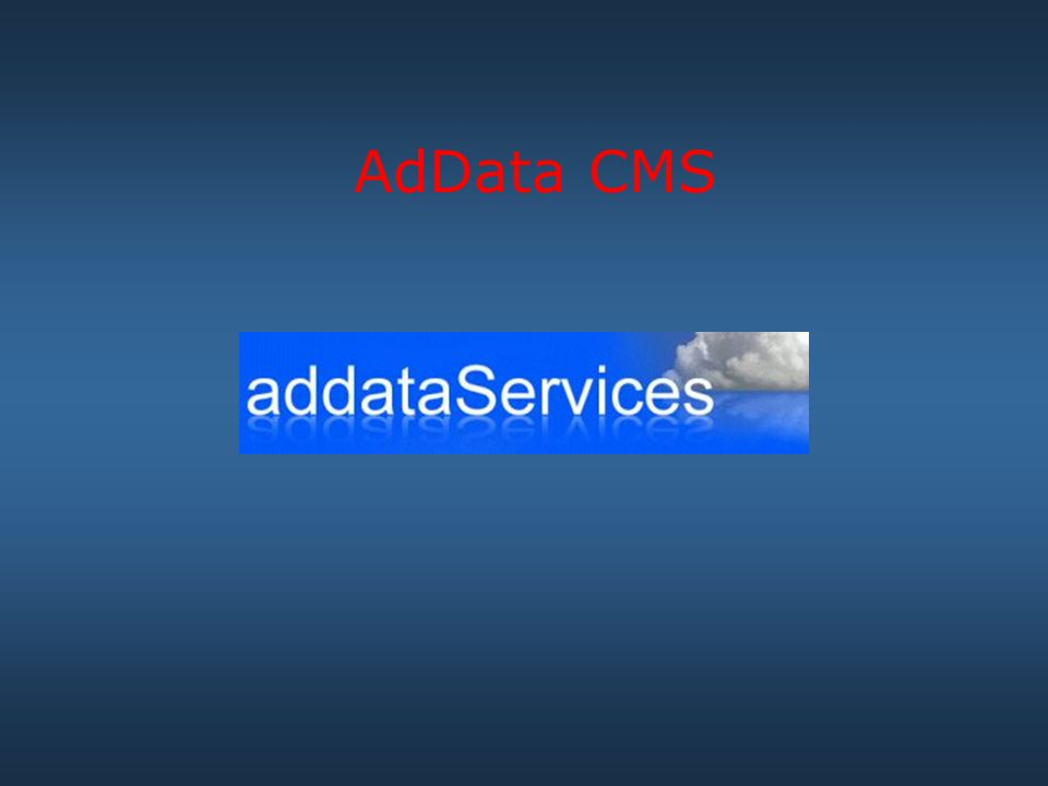 AdData CMS