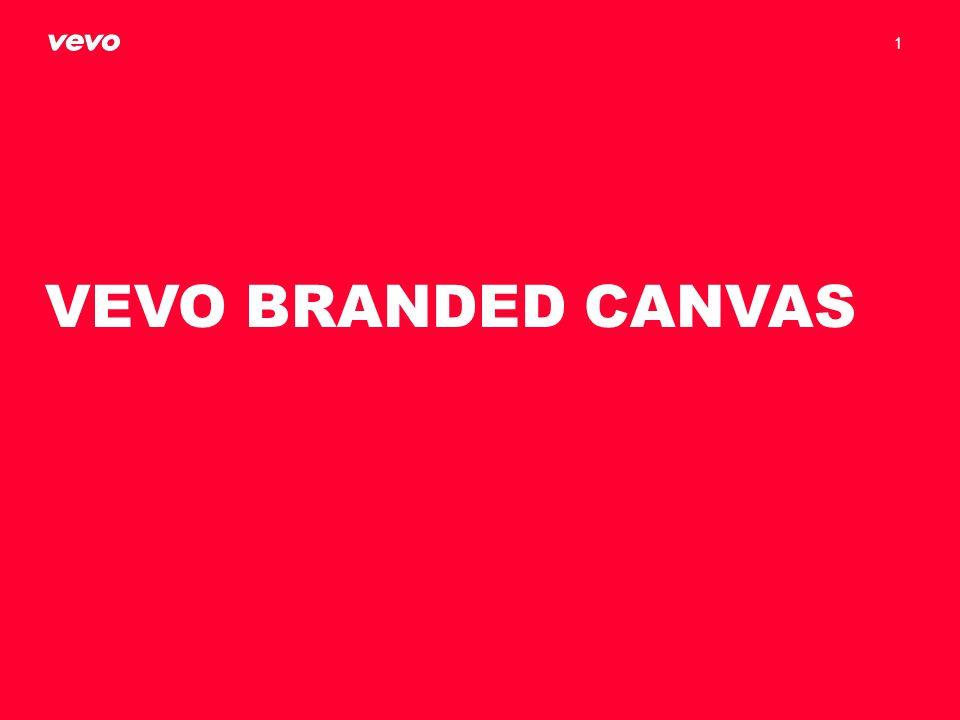 VEVO BRANDED CANVAS 1