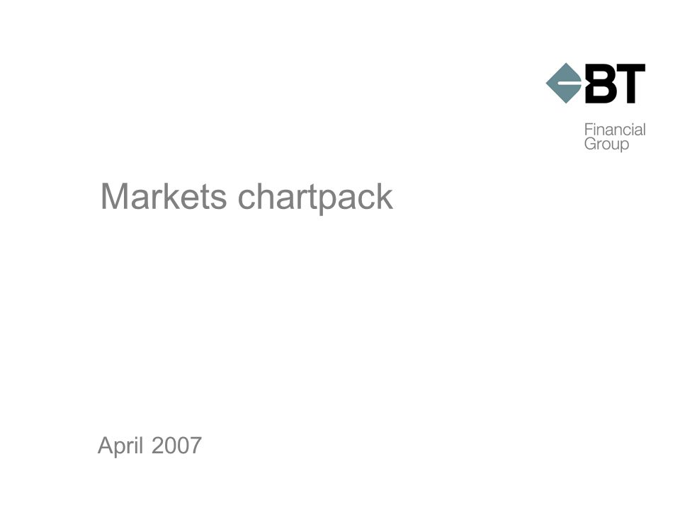 Markets chartpack April 2007