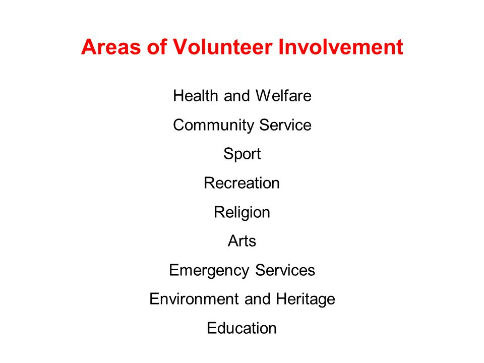 Benefits of Volunteering Who benefits from volunteering and what are those benefits.