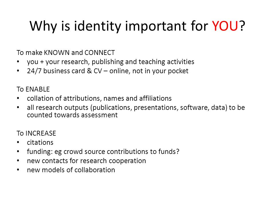 Step 4: Connect.... ORCID