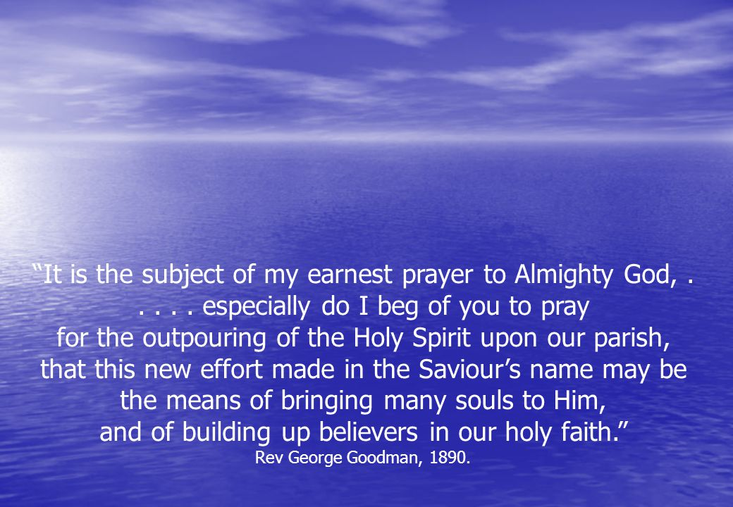 It is the subject of my earnest prayer to Almighty God,.....