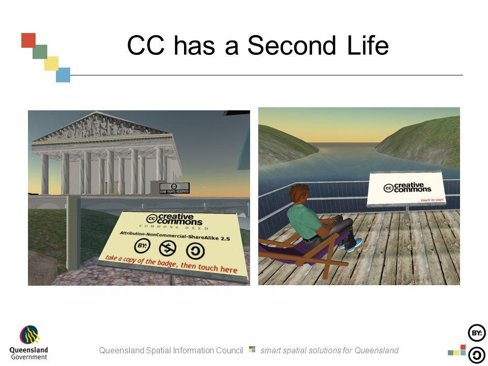 Queensland Spatial Information Council smart spatial solutions for Queensland CC has a Second Life