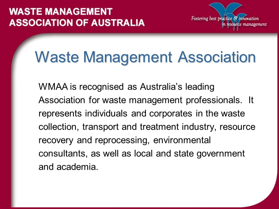 Moving Forward LGA members and WMAA need to work together at a level which will assist both parties towards the common goal.