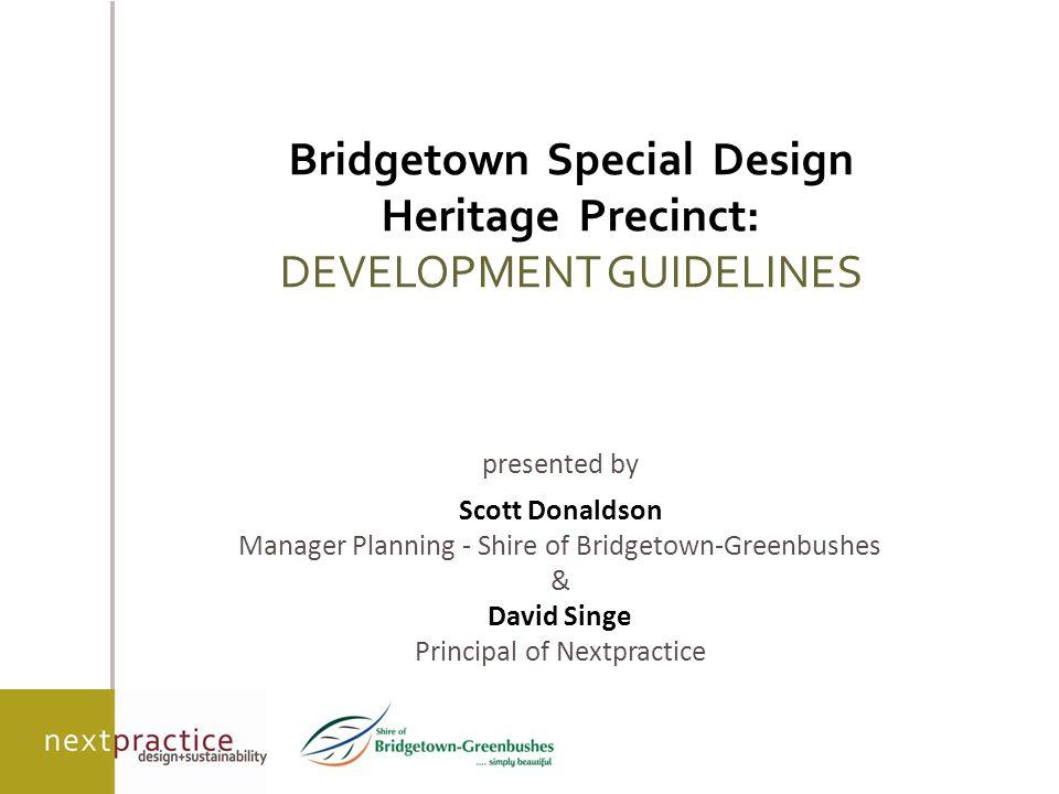 content  policy context  the precinct  development guidelines 1997  development guidelines review 2010  on-ground outcomes  conclusions