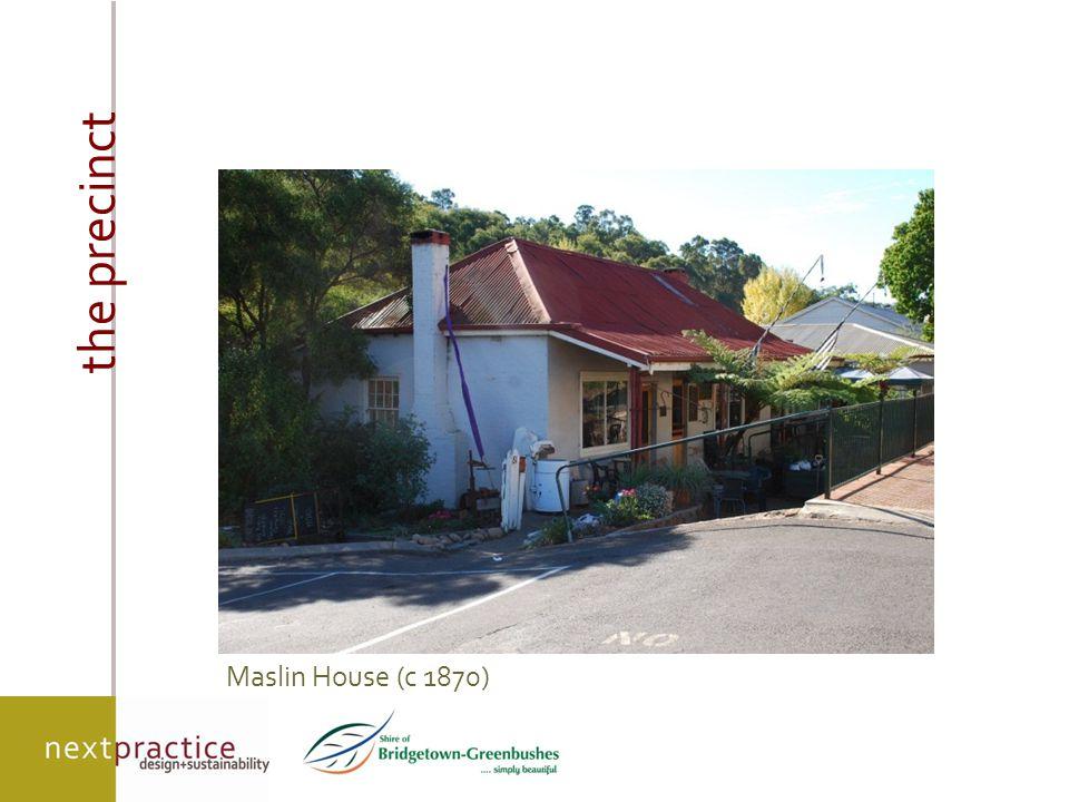 on-ground outcomes facade restoration/renovation 'Blackwood Fresh' development – pre works