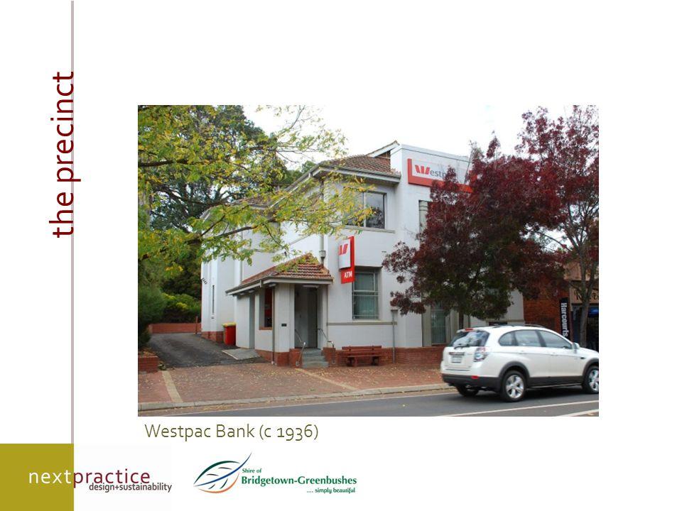 on-ground outcomes new infill development Ross shop development - original