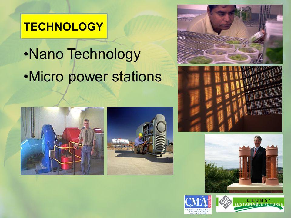 Nano Technology Micro power stations TECHNOLOGY