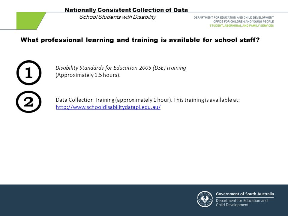 Step 5 – Principal to verify data  Principal to verify data in EDSAS and confirm that that there is current evidence to support a student's inclusion in the Collection.