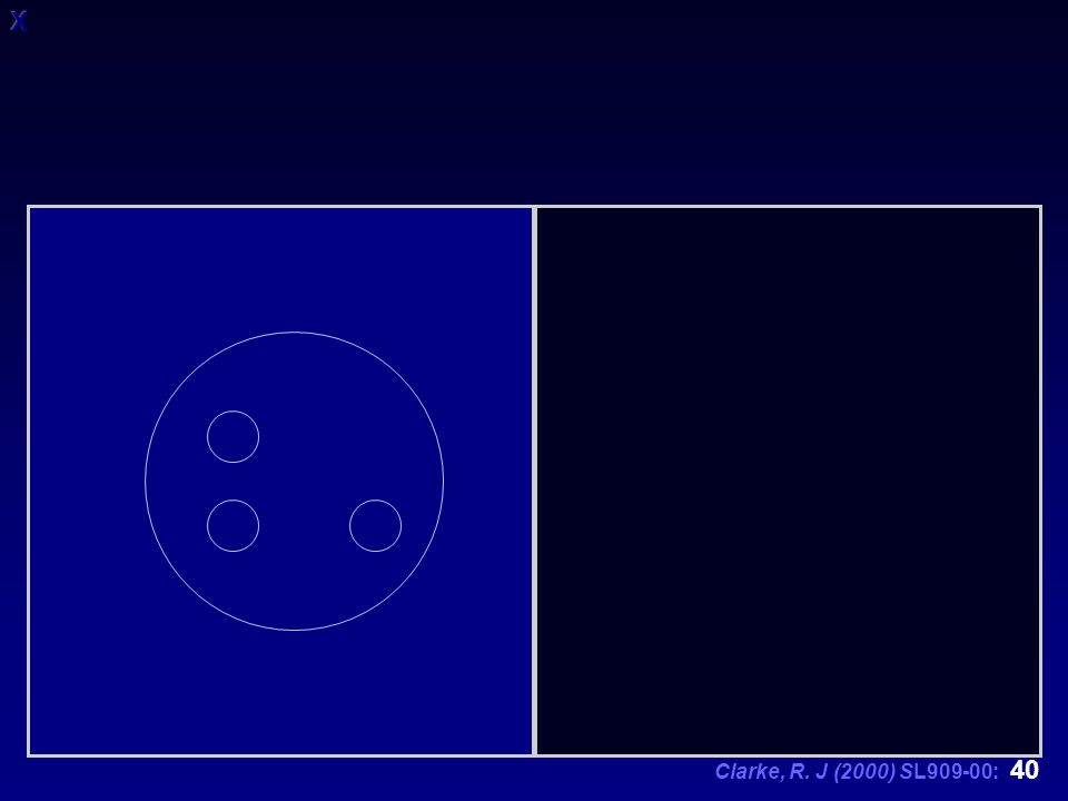 Clarke, R. J (2000) SL909-00: 40
