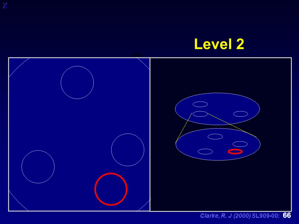 Clarke, R. J (2000) SL909-00: 66 Level 2