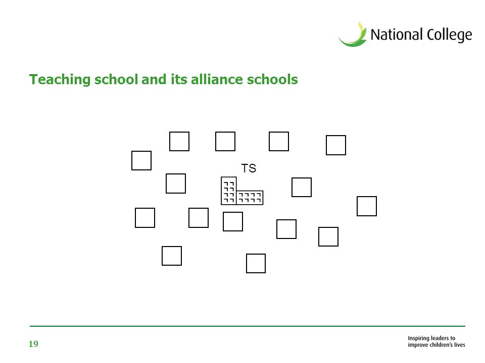 19 Teaching school and its alliance schools TS