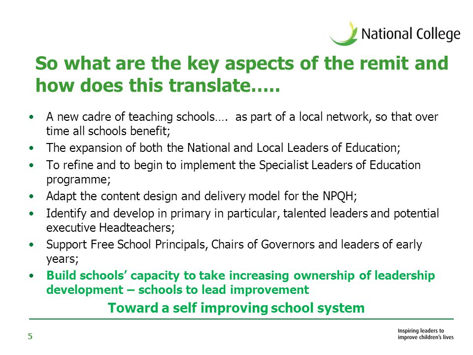 36 What leaders are reading (College reports) 1.Academies: leadership of sponsored and converting academies (10,000 views, 750 downloads) 2.Leading coaching in schools 3.Creating a self improving school system 4.Leadership development and personal effectiveness 5.Coaching for teaching and learning 6.What we know about school leadership 7.Leadership for personalised learning 8.Seven Strong claims about successful leadership 9.Sustainable strategies for school improvement - research associate full report 10.Success and sustainability (Top ten downloads – College research reports June 2011)