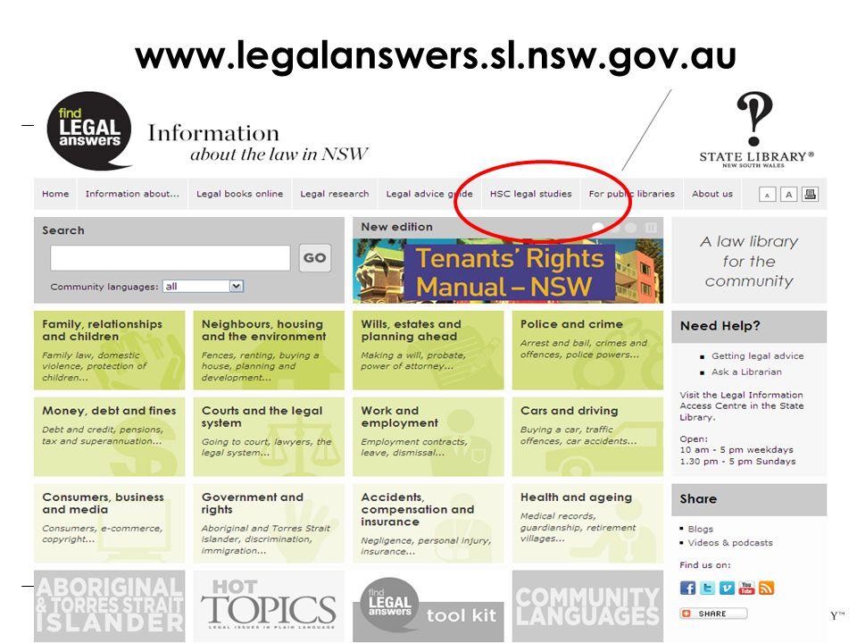 www.legalanswers.sl.nsw.gov.au