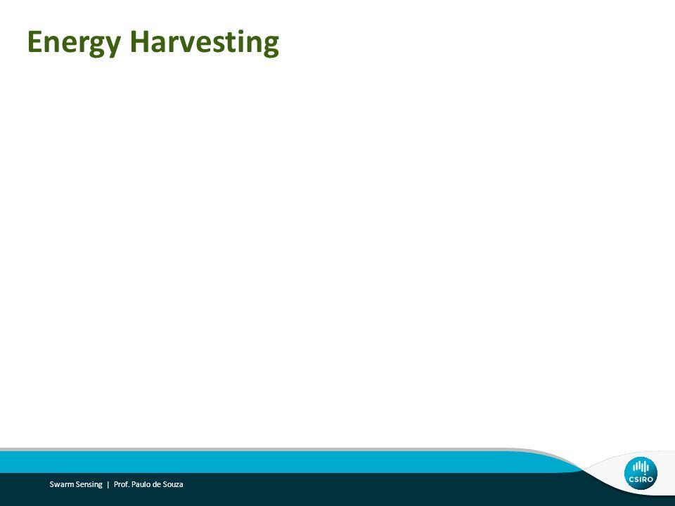 Energy Harvesting Swarm Sensing | Prof. Paulo de Souza