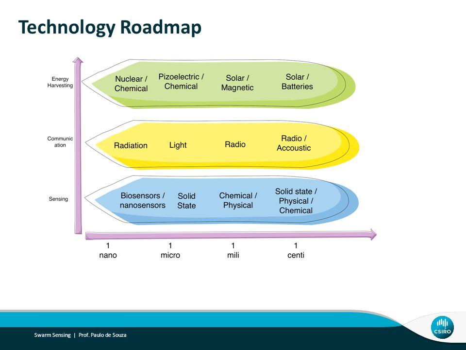 Technology Roadmap Swarm Sensing | Prof. Paulo de Souza