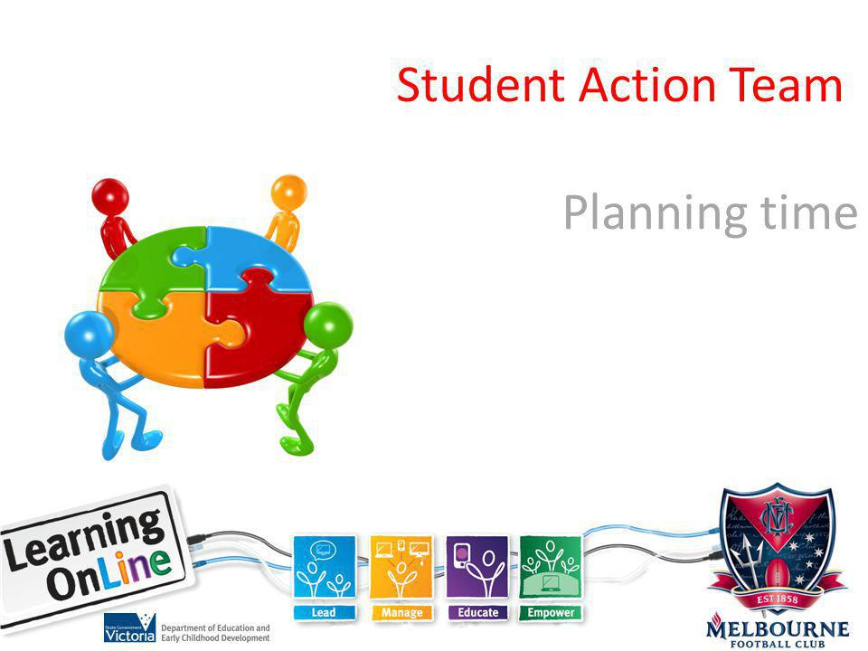 Student Action Team Planning time