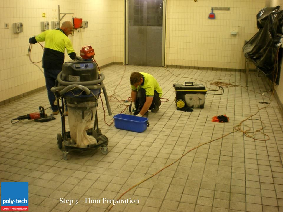 Step 3 – Floor Preparation