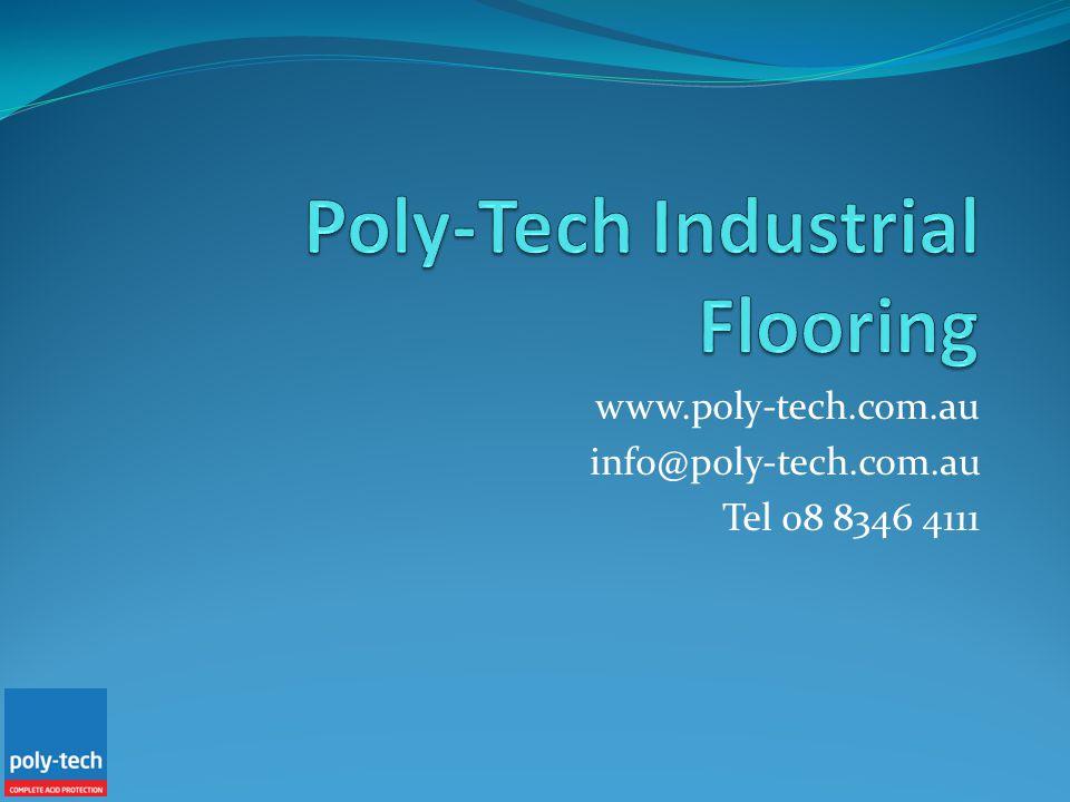 www.poly-tech.com.au info@poly-tech.com.au Tel 08 8346 4111