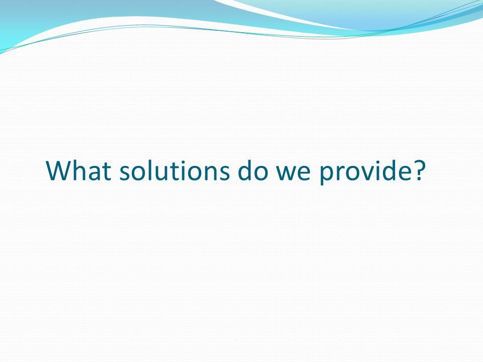 Our Range of Solutions Epoxy & Polyurethane Coatings Polyurea Coatings Concrete Repairs Abrasive & Decorative Blasting Fibre glassing Waterproofing Non Slip Surface Solutions
