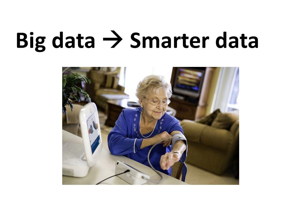 Big data  Smarter data