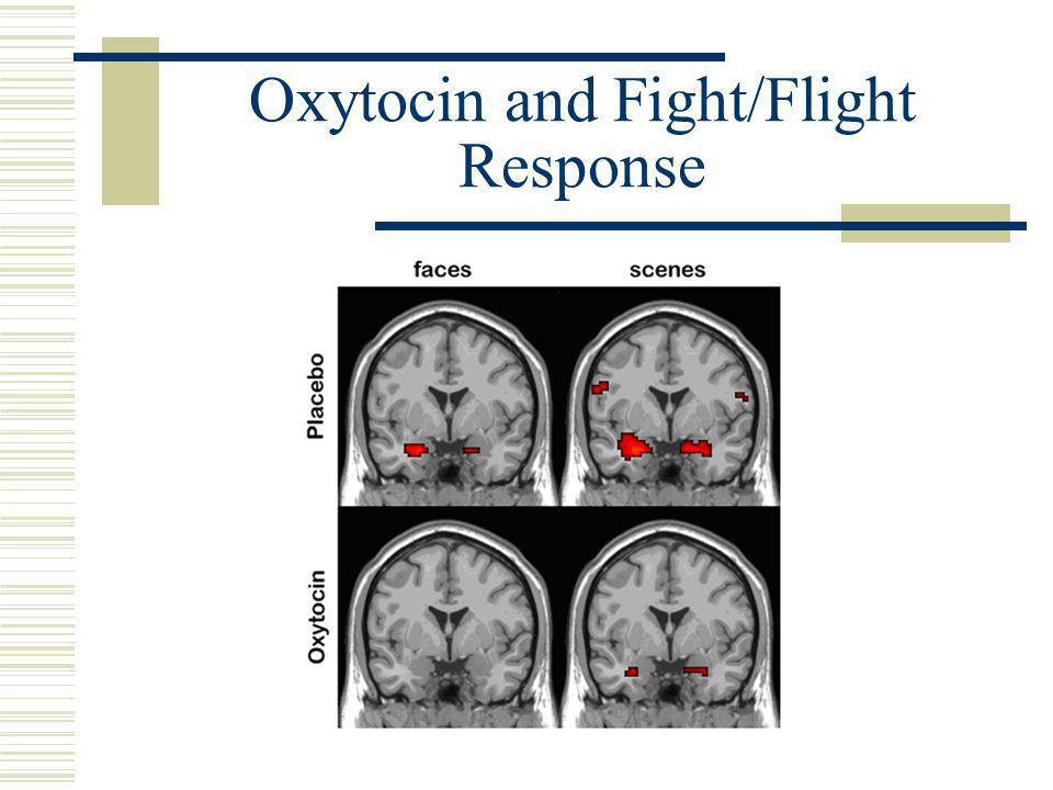 Oxytocin and Fight/Flight Response