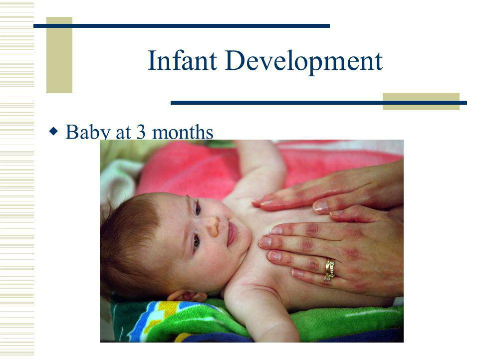 Infant Development  Baby at 3 months