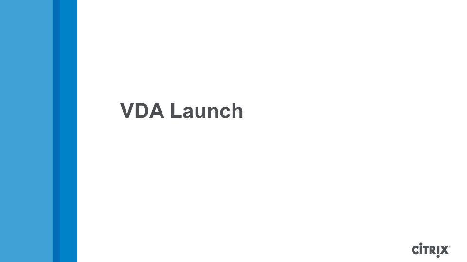 VDA Launch