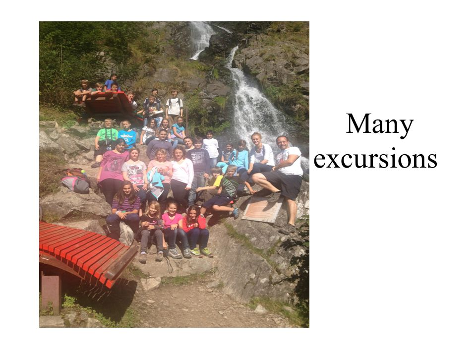 Many excursions