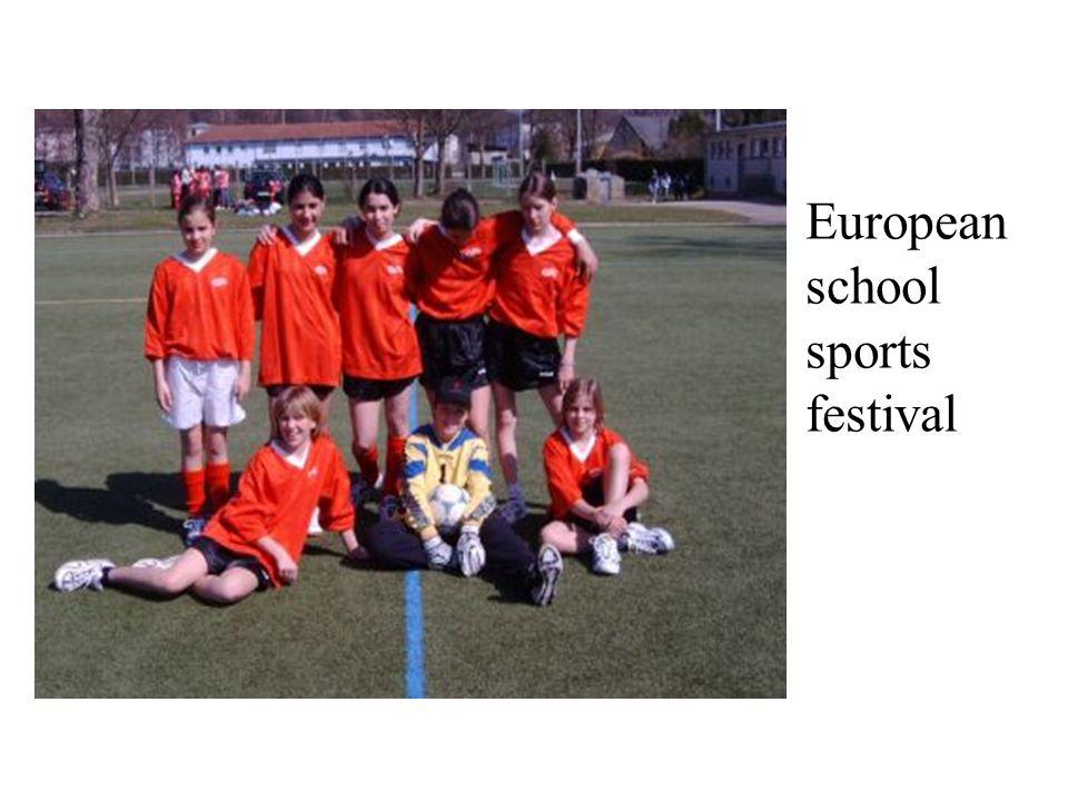 European school sports festival