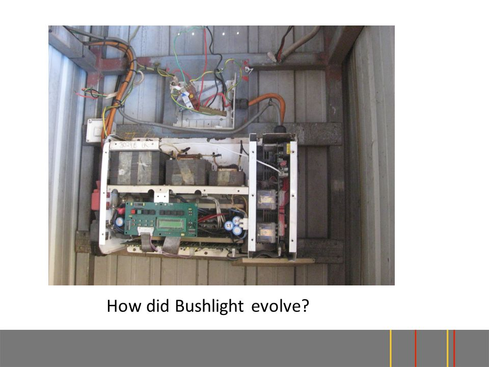 How did Bushlight evolve