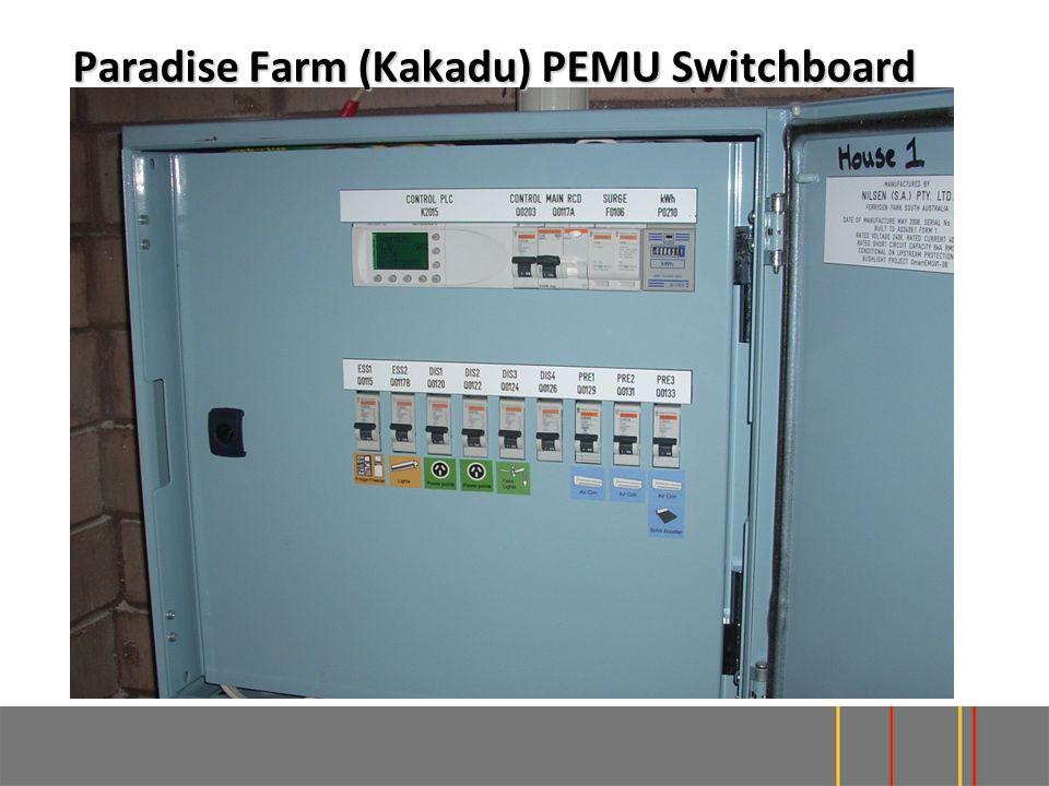 Paradise Farm (Kakadu) PEMU Switchboard