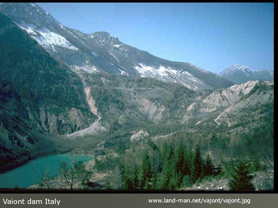 Vaiont dam Italy www.land-man.net/vajont/vajont.jpg