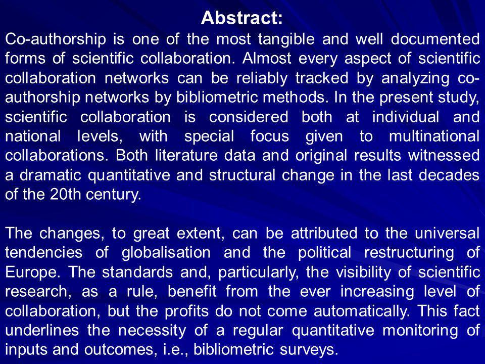 Price, D.deSolla, Gürsey, S. (1976). Studies in scientometrics.