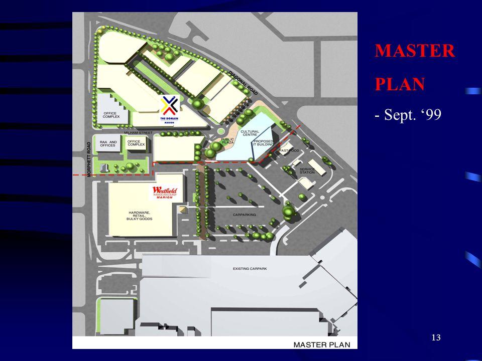13 MASTER PLAN - Sept. '99