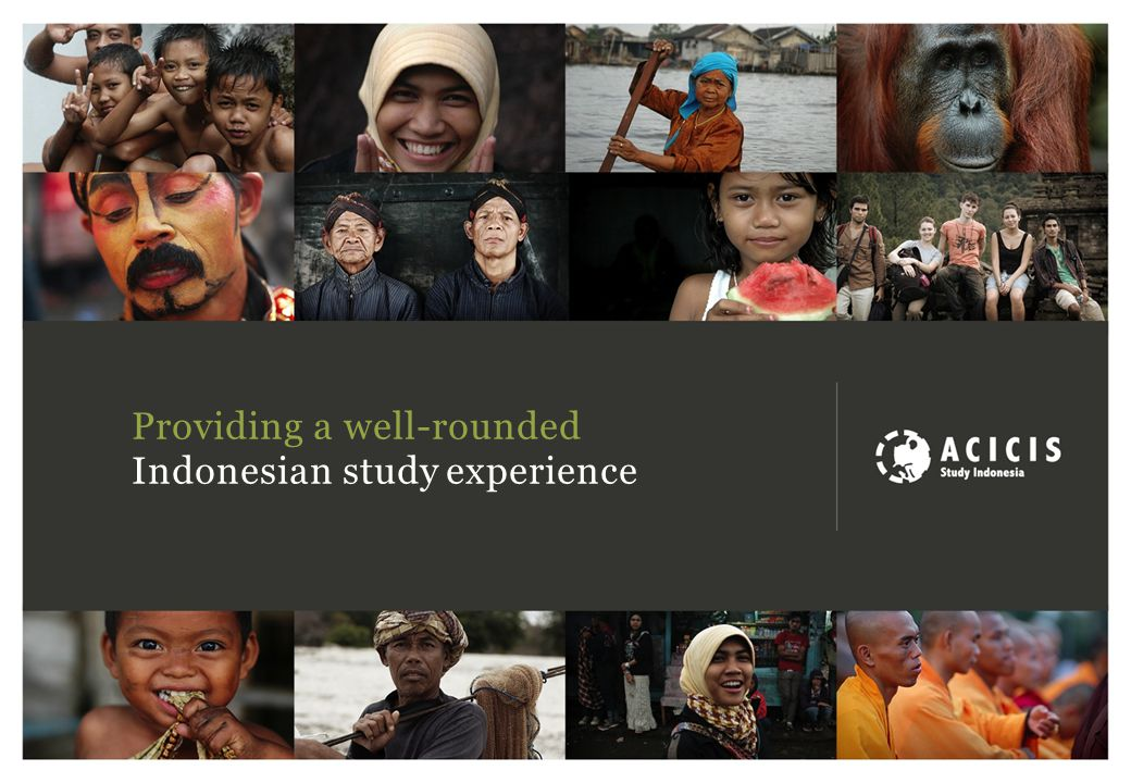 Providing a well-rounded Indonesian study experience