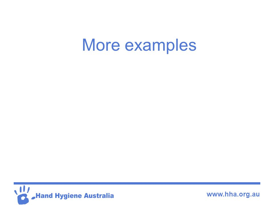 www.hha.org.au More examples