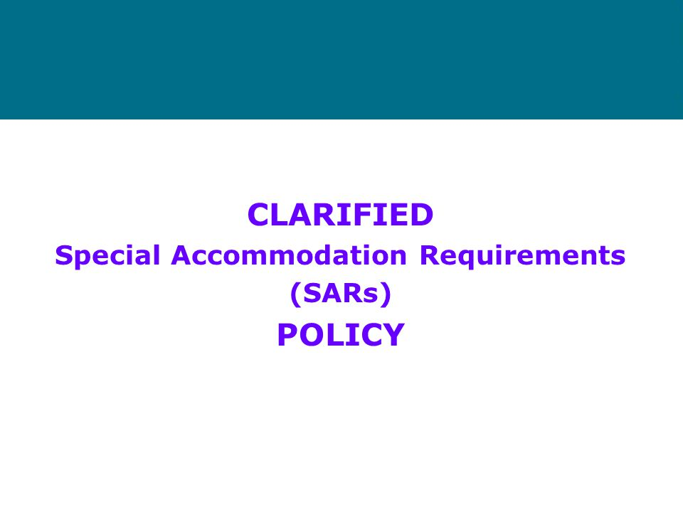 The Strategy The Informed Housing Opportunities (IHO) Strategy comprises three new policies: –Clarified Special Accommodation Requirements policy; –Ap