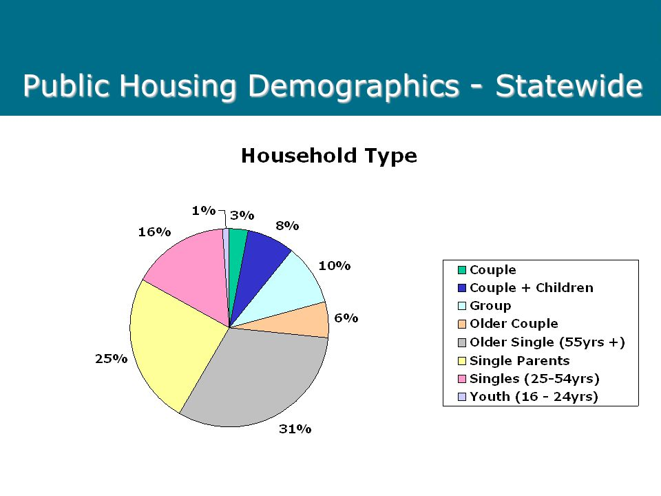 Public Housing Demographics - Statewide