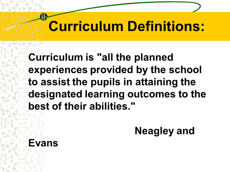 Situation Analysis It is the process of examining the learning context in which the curriculum is to operate: eg characteristics of the: school staff students